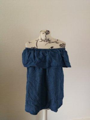 Armedangels Mouwloze blouse blauw