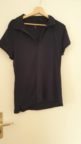 C&A Basic Shirt dark blue cotton