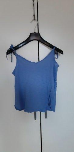 Blaues Sommer-Top