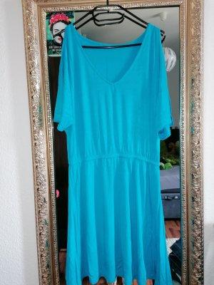 blaues Sommerkleid