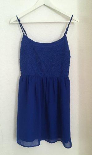 Bershka Sukienka niebieski