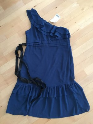 Orsay One Shoulder Dress blue