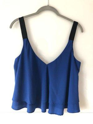 Blaues sommerliches Top