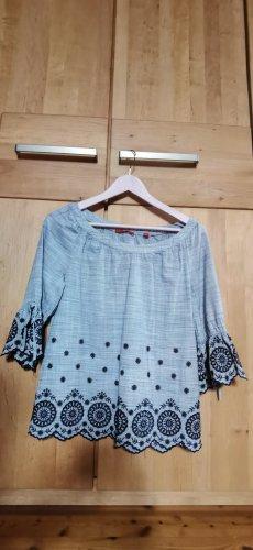 blaues Sommershirt