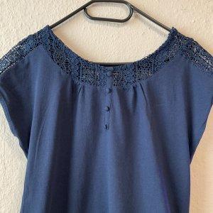 Carmen Shirt dark blue