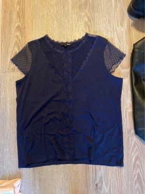 Etam T-shirt blu scuro