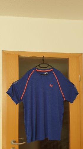 Under armour Maglietta sport arancione-blu