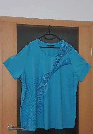 Ulla Popken Sports Shirt light blue-azure