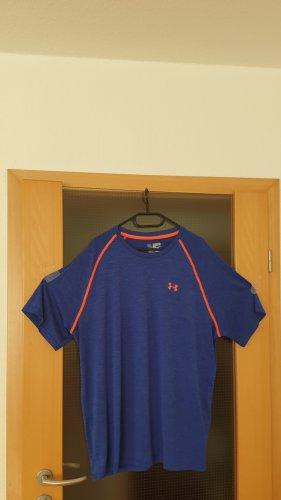 Under armour Sports Shirt orange-blue