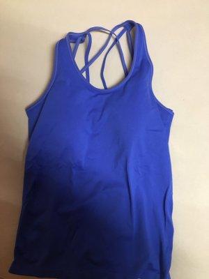 H&M Sport Canotta sportiva blu
