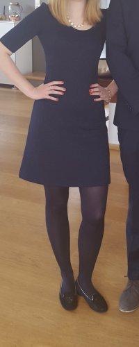 Blaues Stretch Kleid von French Connection in Größe 34