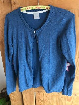 Culture Cardigan in maglia blu