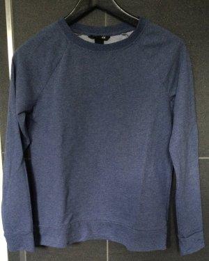 Blaues Sweatshirt