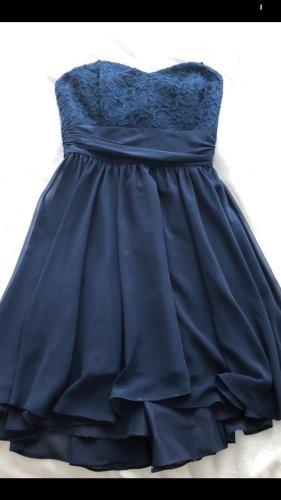 blaues Swing Kleid