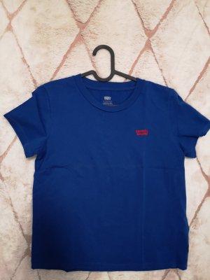 blaues T-Shirt Levis