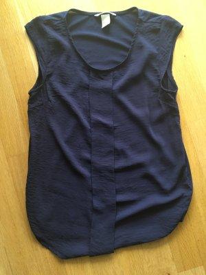 Blaues T-Shirt von H&M, Gr. 34