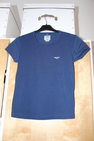 blaues T-Shirt von Miss Sixty