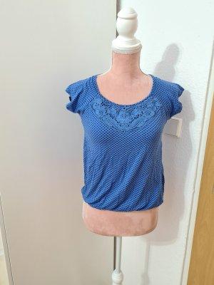 blaues T-Shirt von Orsay