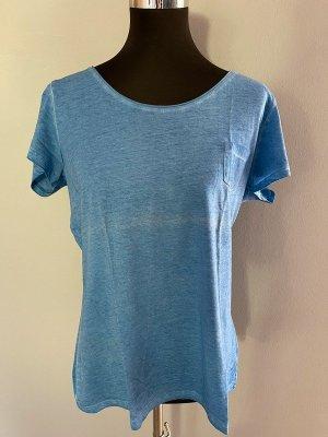 Blaues T-Shirt von UpFashion, Gr. L