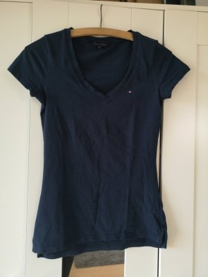 blaues Tommy Hilfiger T-Shirt in XS