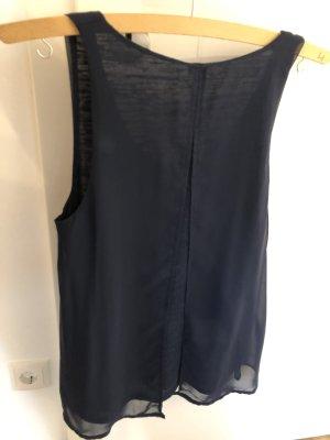 Blaues Top/ Bluse