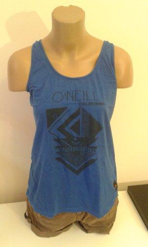 ONEILL Top de tirantes azul Algodón
