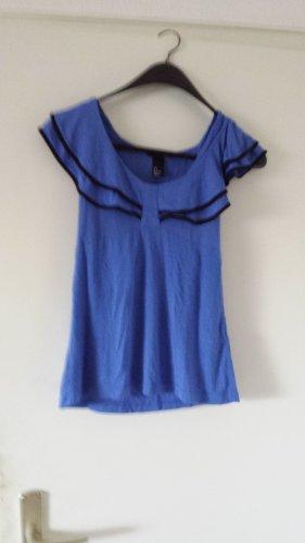 H&M Basic topje blauw