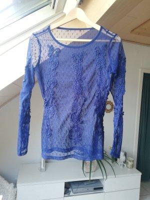 Lace Top blue
