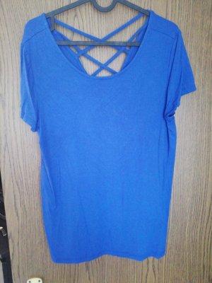 Blaues tshirt only L mit Rückenausschnitt