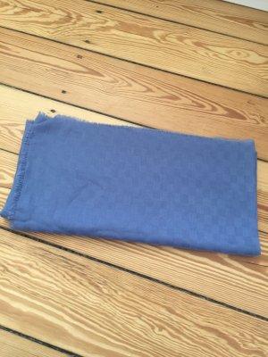 Vintage Neckerchief cornflower blue cotton
