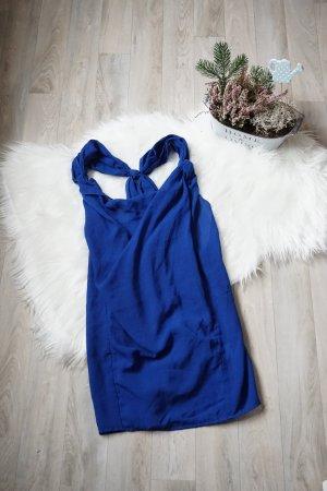 Blaues weites Shirt / Oversized Shirt / Azurblaues Shirt