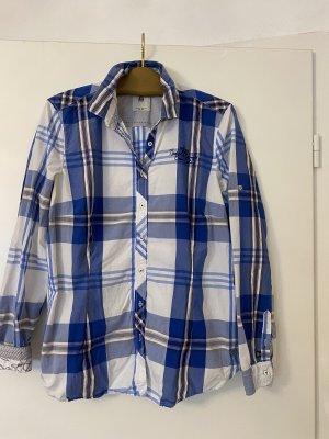 Blaugestreifte Bluse von Gastra