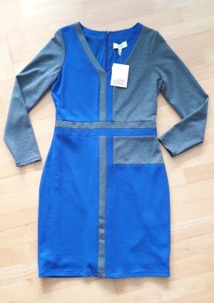Blaugraues Kleid von Belle Badgley Mischka Gr.42