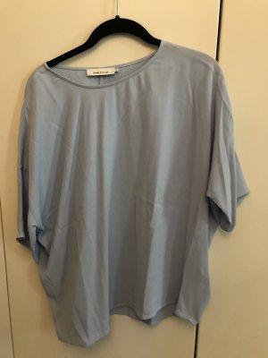 Blaugraues Shirt von Samsøe & Samsøe