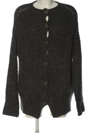 Blaumax Cardigan light grey flecked casual look