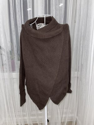 Blaumax Knitted Cardigan taupe-black brown