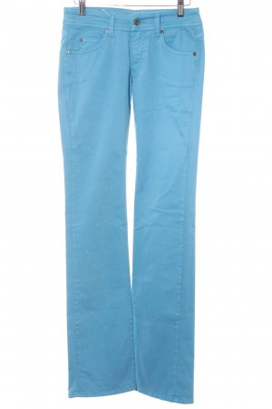 Blaumax Five-Pocket-Hose himmelblau Casual-Look