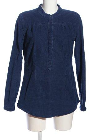 Blaumax Hemd-Bluse blau Casual-Look
