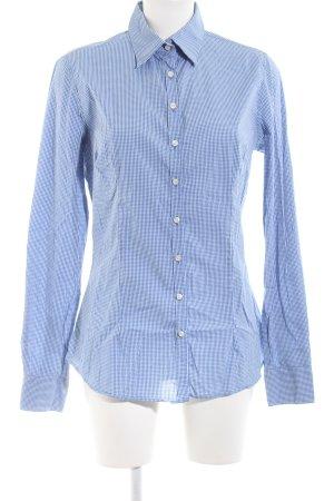 Blaumax Hemd-Bluse blau-weiß Karomuster Business-Look