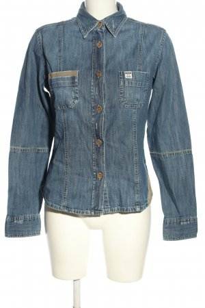 Blaumax Denim Shirt blue casual look