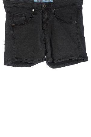 Blaumax Pantaloncino di jeans nero stile casual