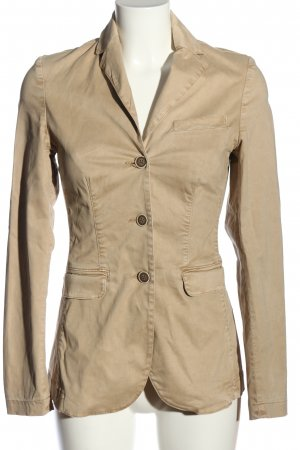 Blaumax Short Blazer cream business style