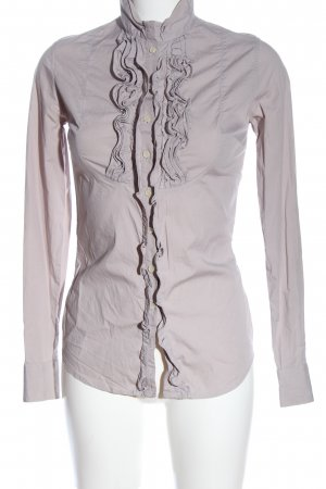 Blaumax Chemise à manches longues gris clair style décontracté