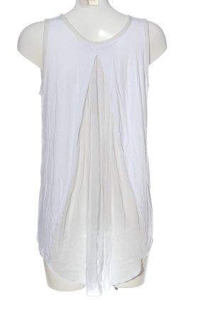 Blaumax Top long blanc-blanc cassé style décontracté