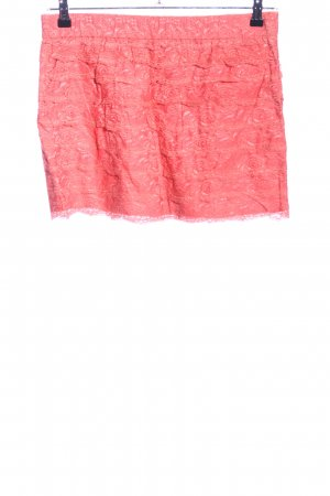 Blaumax Miniskirt red flower pattern casual look