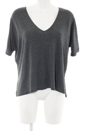 Blaumax Oversized Shirt hellgrau meliert Casual-Look