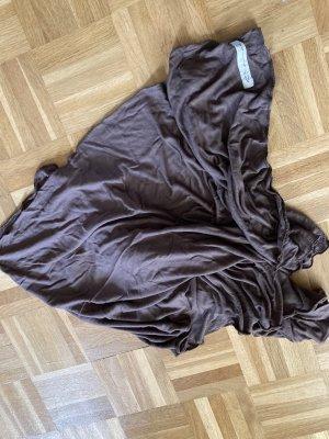Blaumax Zomersjaal cognac-zwart bruin
