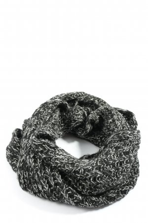 Blaumax Tubesjaal zwart-wit gestippeld casual uitstraling