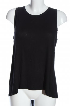 Blaumax Silk Top black casual look