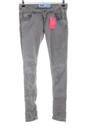 Blaumax Slim Jeans hellgrau Casual-Look